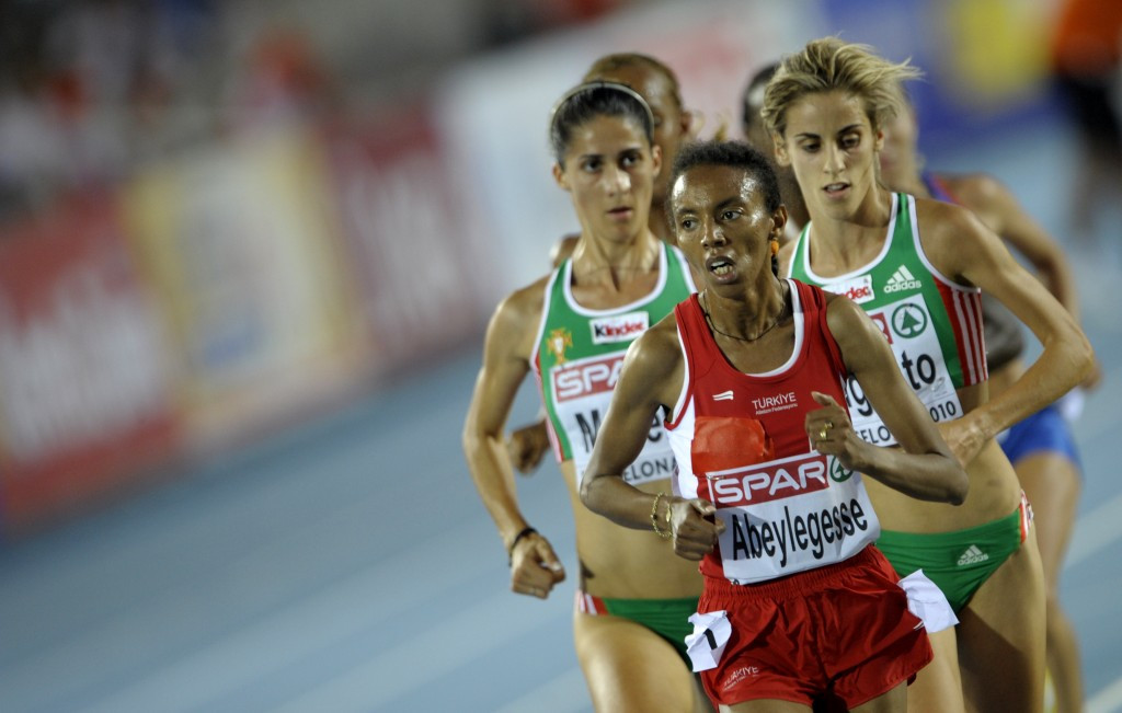 Elvan Abeylegesse was also on the list of athletes named by the IAAF today ©Getty Images