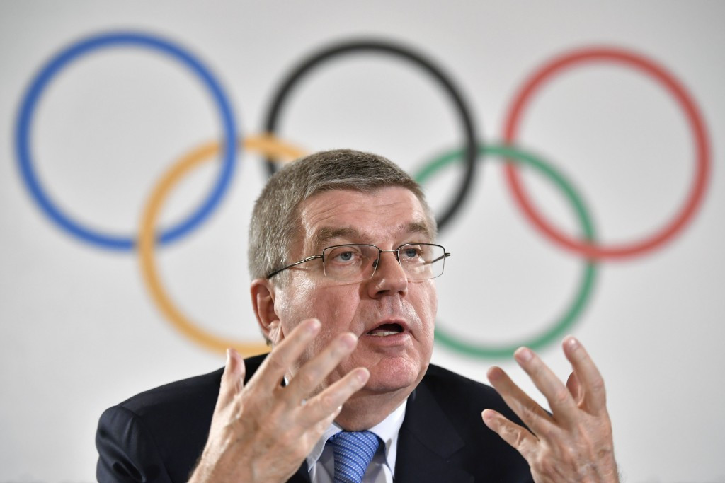 Thomas Bach has defended the IOC's record on doping problems ©Getty Images