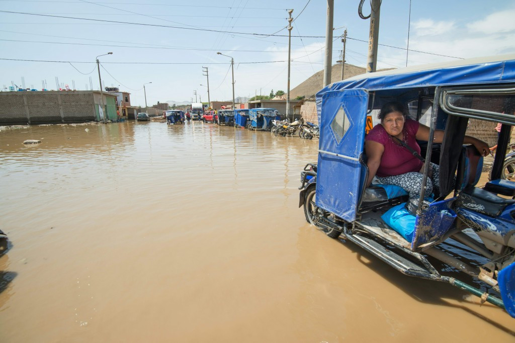 Devastating flooding has taken place across Peru in recent weeks ©Getty Images