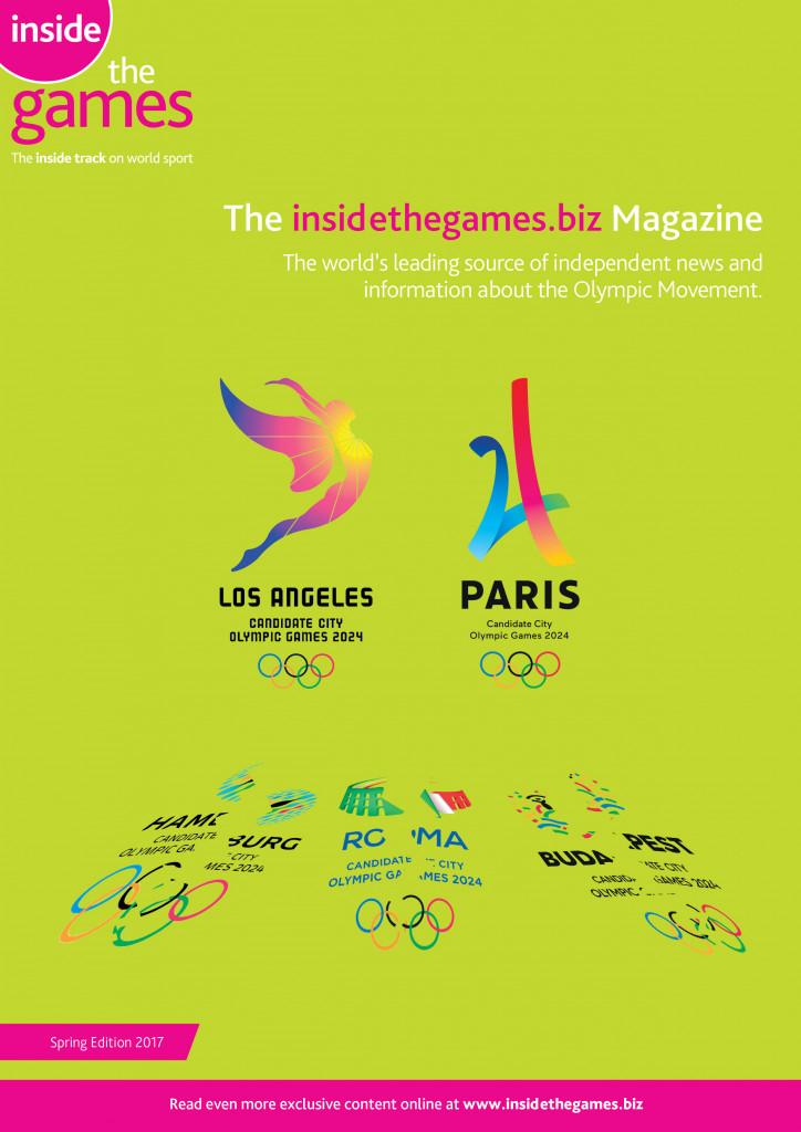The insidethegames.biz Magazine Spring Edition 2017