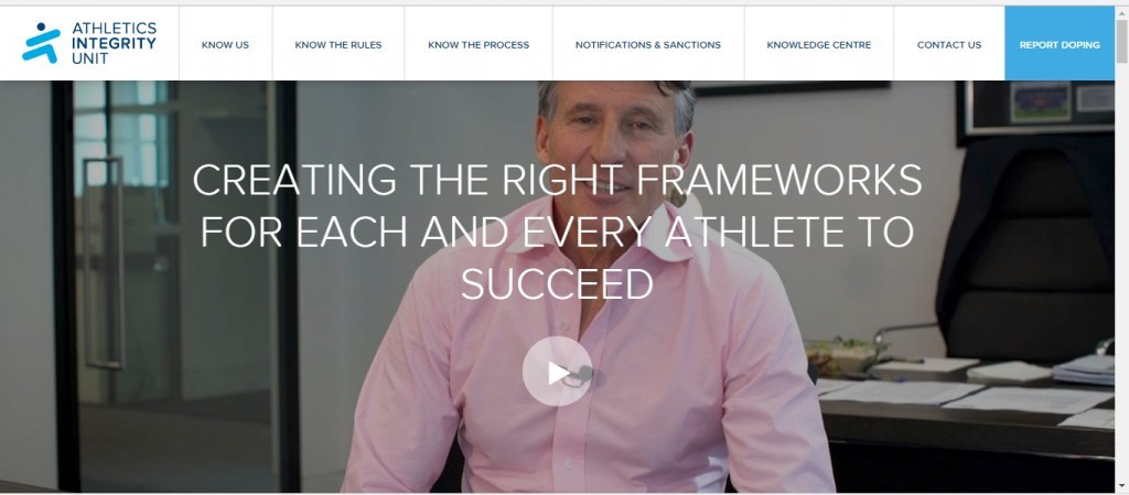 A new Athletics Integrity Unit website has been launched by the IAAF to coincide with the announcement that David Howman will be its chair ©ITG