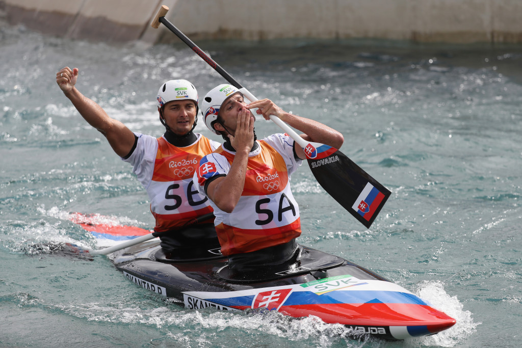 The men's C2 slalom, won by Ladislav and Peter Škantár of Slovakia at Rio 2016, is being dropped from the programme for Tokyo 2020 to accommodate other events to ensure gender equality ©Getty Images