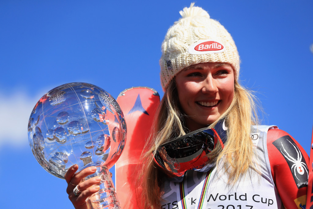 Mikaela Shiffrin has claimed a Team USA award for March ©Getty Images