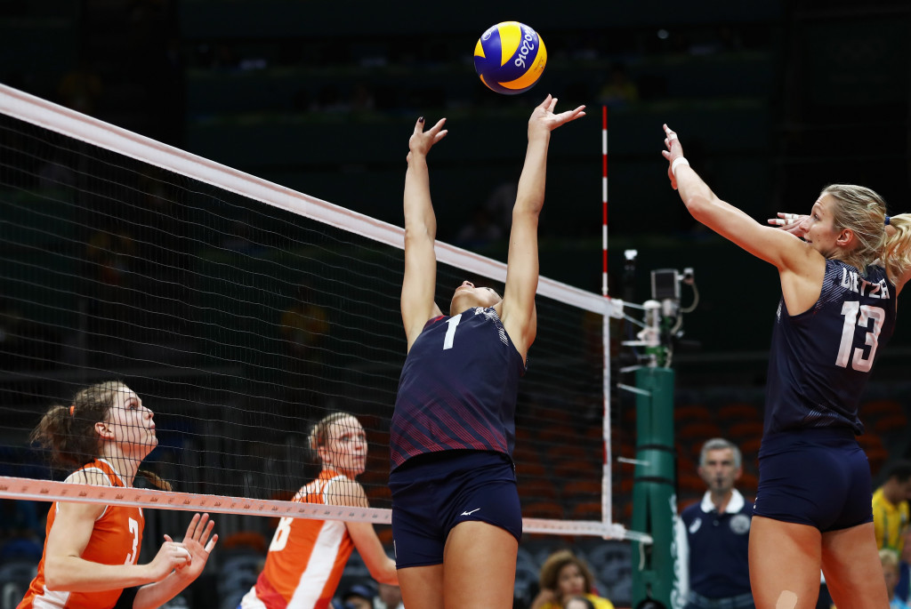 The United States' women's volleyball team won bronze at the Rio 2016 Olympic Games ©Getty Images