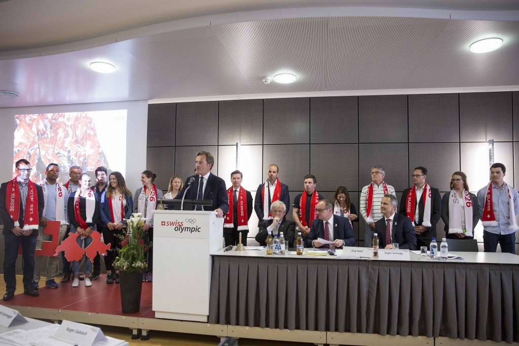 Sion will be the Swiss bid for the 2026 Winter Olympics and Paralympics ©Swiss Olympic