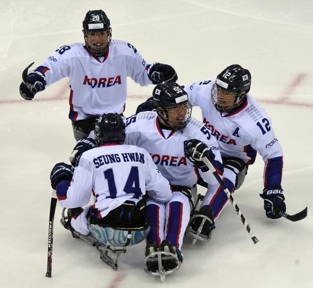 South Korea scored a late winner to triumph on home ice in Gangneung ©POCOG