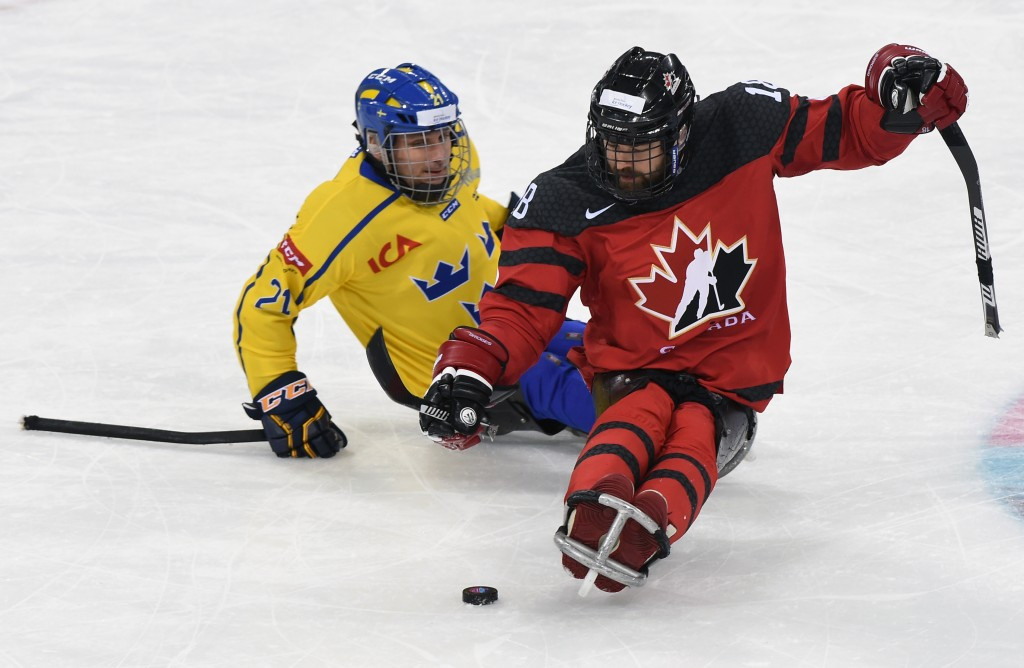 Canada enjoyed a crushing win over Sweden ©POCOG