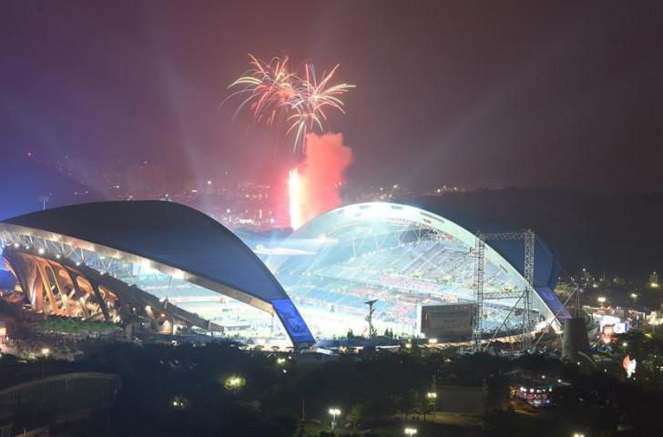 """Gwangju 2015 praised as """"big success"""" as Summer Universiade declared closed"""