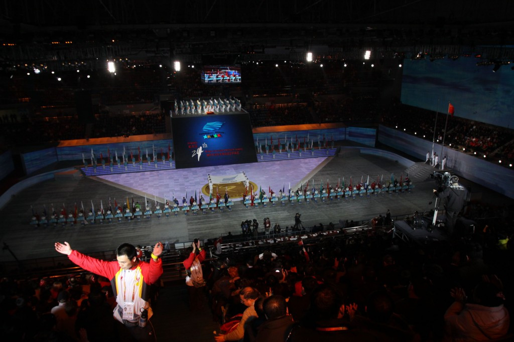 Chinese city Harbin staged the Winter Universiade 2009 ©Getty Images