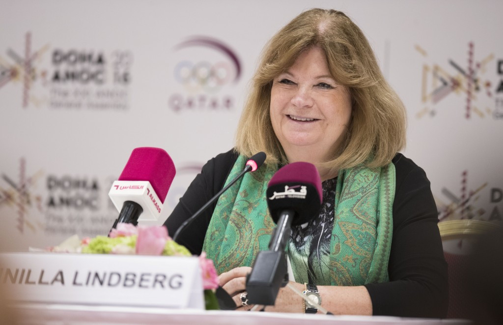 Gunilla Lindberg has pledged that there will 50-50 gender equality at the Tokyo 2020 Olympics ©Getty Images