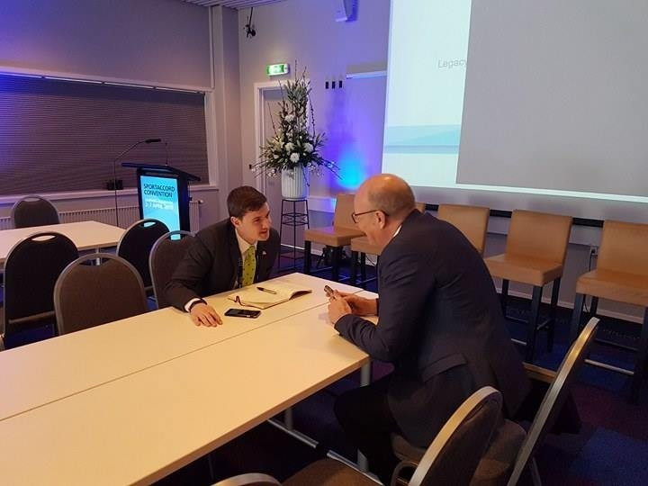 Kim Andersen spoke enthusiastically about his plans for World Sailing to insidethegames ©TSE