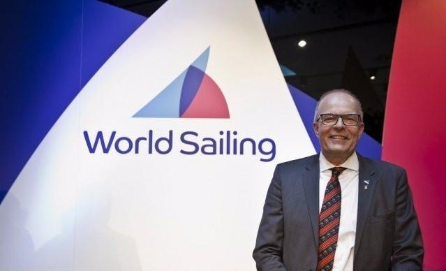 Kim Andersen was elected World Sailing President in November ©World Sailing