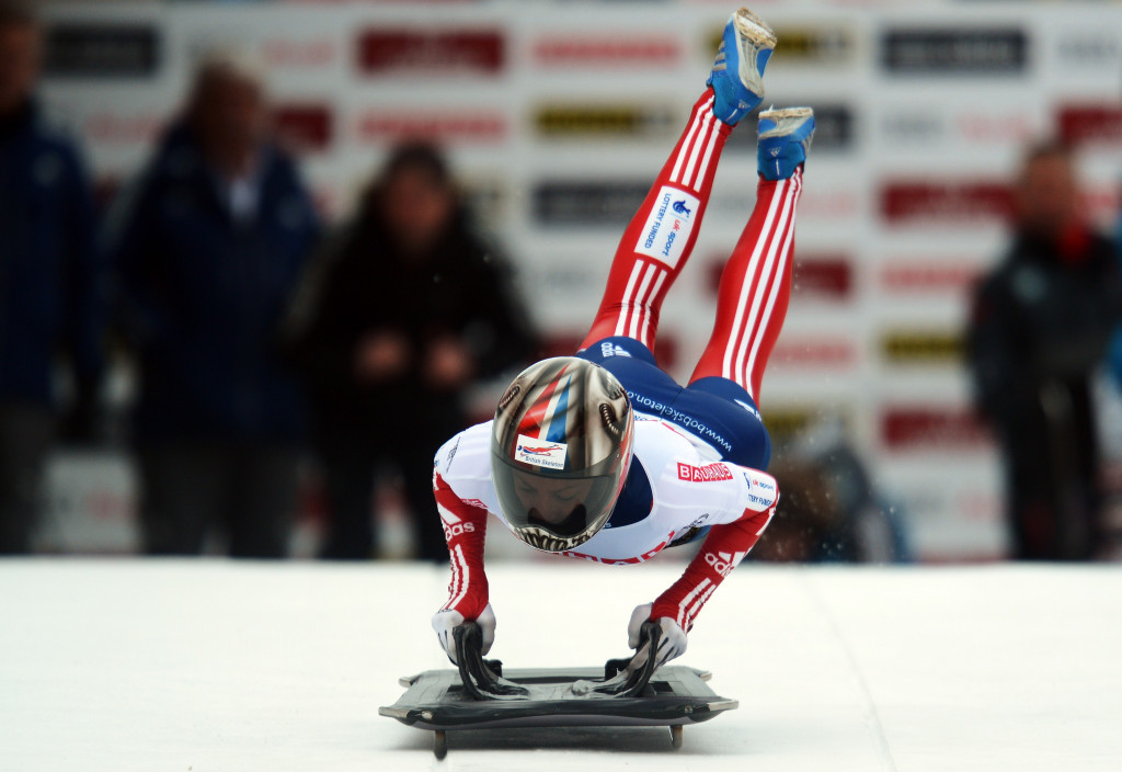 Shelley Rudman secured the women's skeleton world title in 2013 ©Getty Images