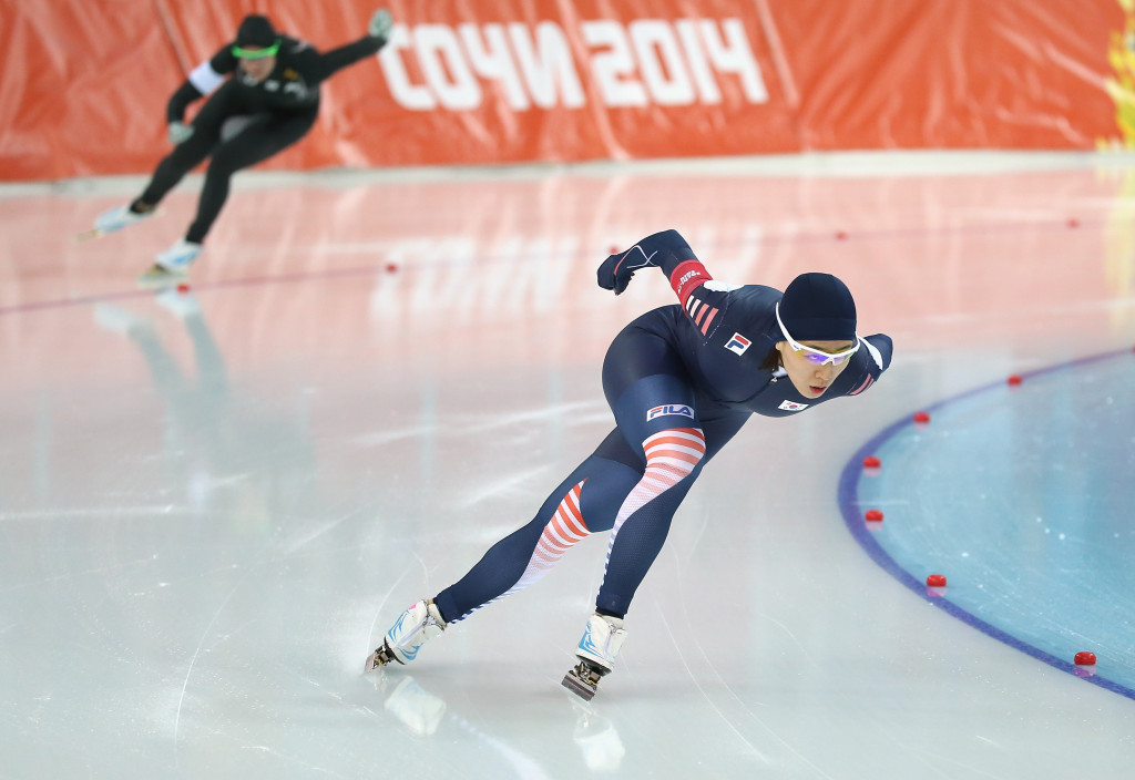 South Korean speed skater Lee Sang-hwa is the two-time reigning Olympic champion in the women's 500m event ©Getty Images