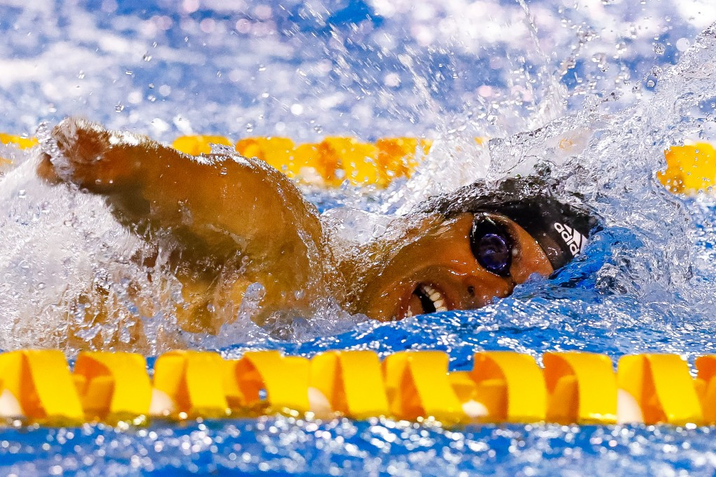 Dias continues winning form on final day of Para Swimming World Series