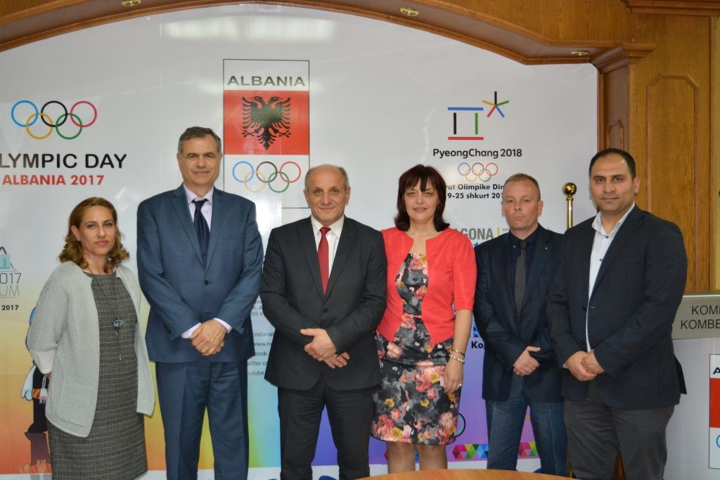 The National Olympic Committee of Albania has held cooperation talks with the Bulgarian National Sports Academy at its offices in Tirana ©KOKSH