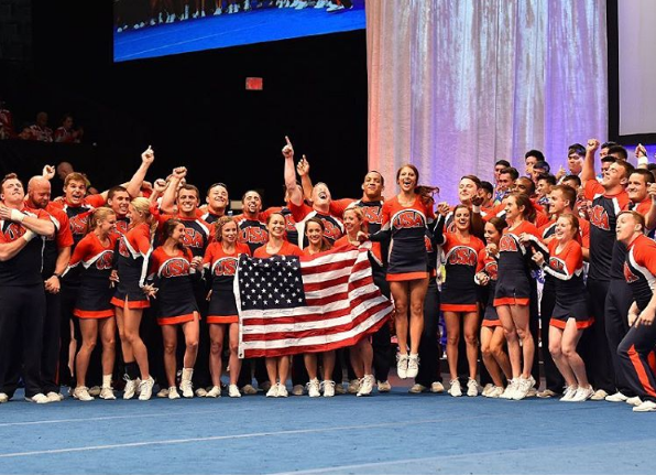 The United States won two of the four gold medals at the ICU World Cheerleading Championships ©ICU/Instagram