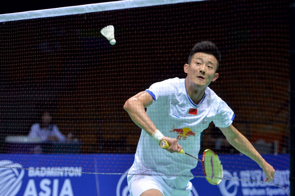 Chen Long beat team-mate Lin Dan to win the Asian title ©Getty Images
