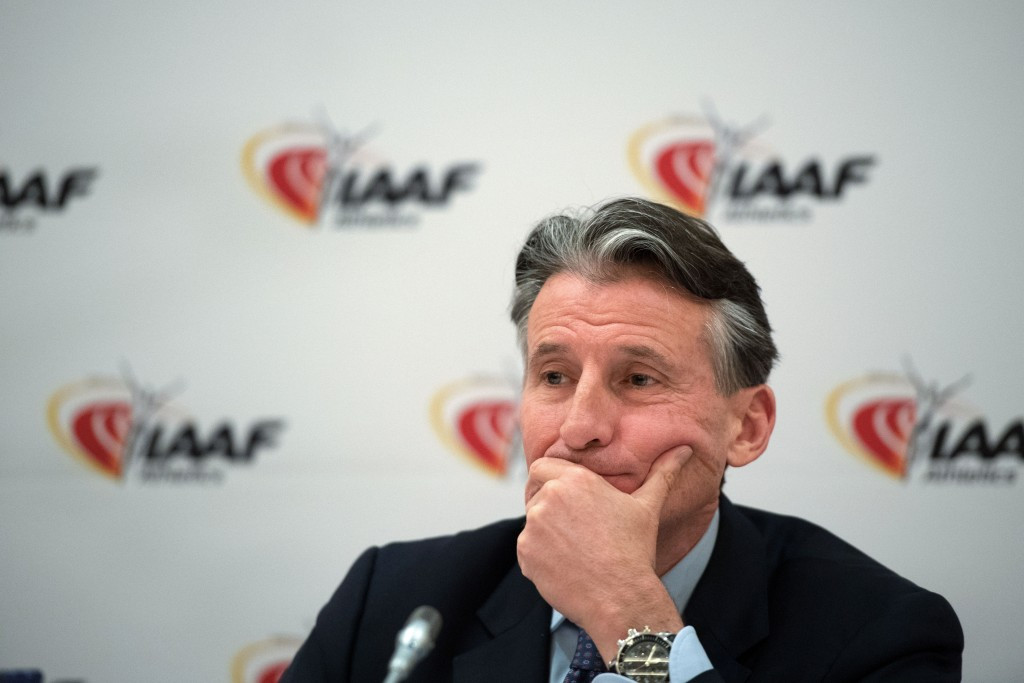 IAAF President Sebastian Coe may lose two of his lesser-known European records ©Getty Images
