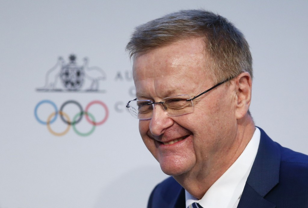 John Coates has been re-elected as the AOC President ©Getty Images