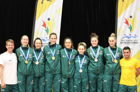 Australia secure four taekwondo golds as New Caledonia monopolise squash medals on day 12 of Port Moresby 2015