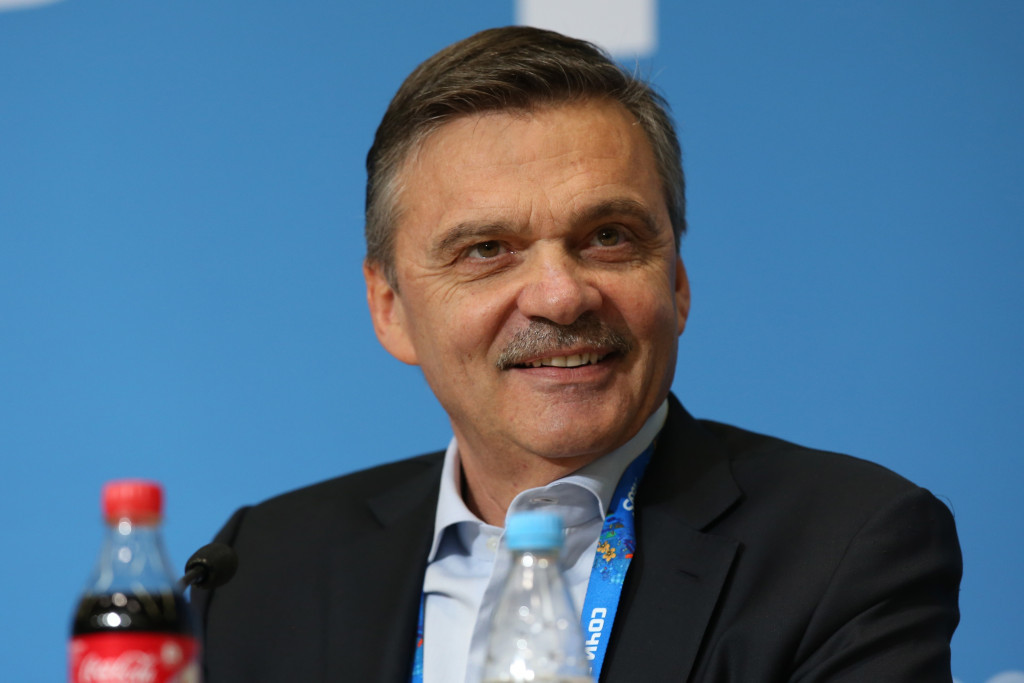 IIHF President René Fasel still hopes a solution will be found with the NHL ©Getty Images