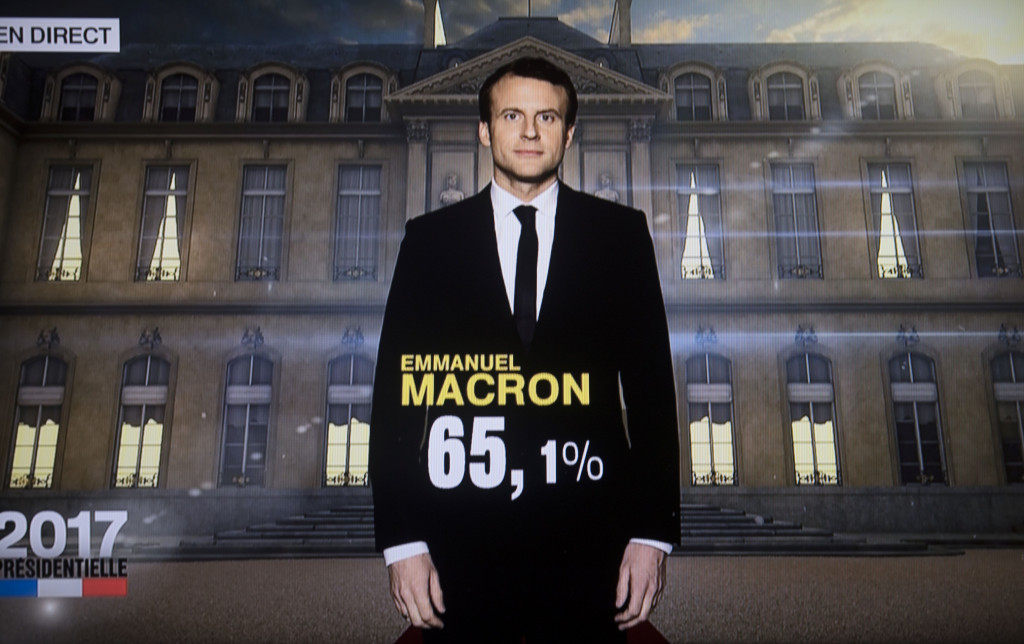Emmanuel Macron has been elected French President ©Getty Images