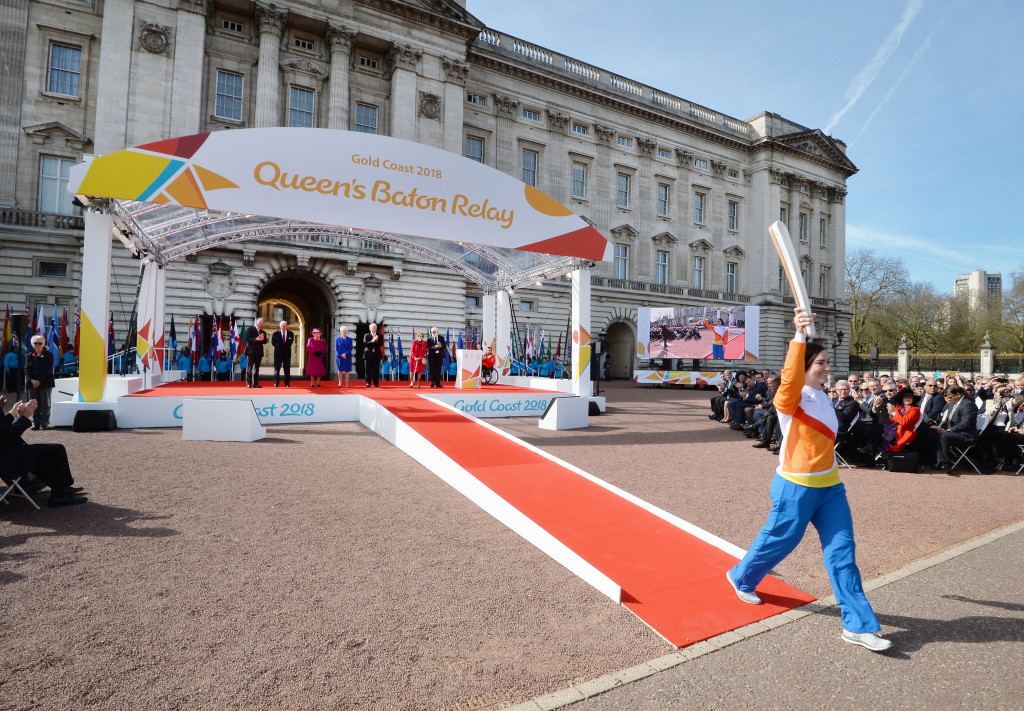 Plans for Birmingham 2022's Queen's Baton Relay will be developed in 2020 ©Getty Images