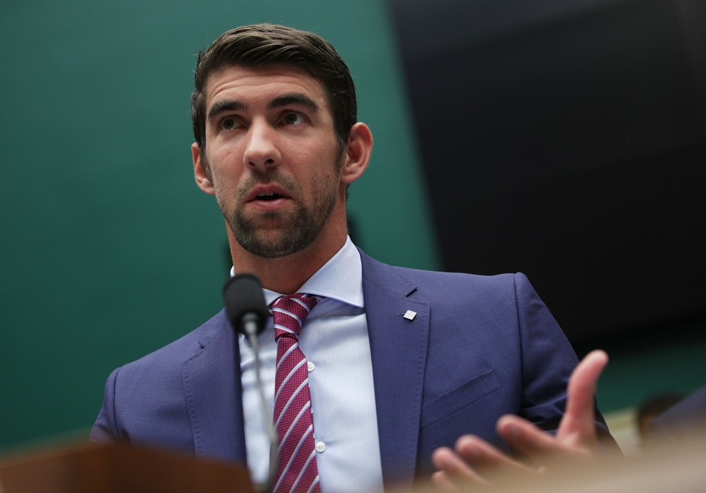 Could athletes such as Michael Phelps serve as ambassadors to get key messages across? ©Getty Images