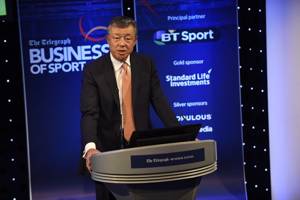 Liu Xiaoming, the ambassador of the People's Republic of China to the United Kingdom, has said here today that hosting the FIFA World Cup is one of the East Asian nation's football dreams ©Telegraph Business of Sport