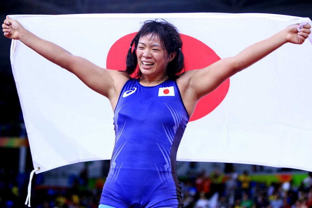 Rio 2016 Olympic gold medallist Risako Kawai is dropping down to 60kg for the 2017 Asian Wrestling Championships ©UWW
