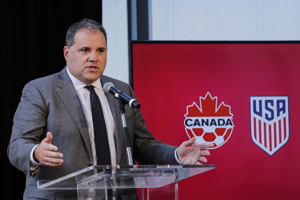 Victor Montagliani, President of CONCACAF, said the Memorandum of Understanding will help build bridges between the two governing bodies ©Getty Images