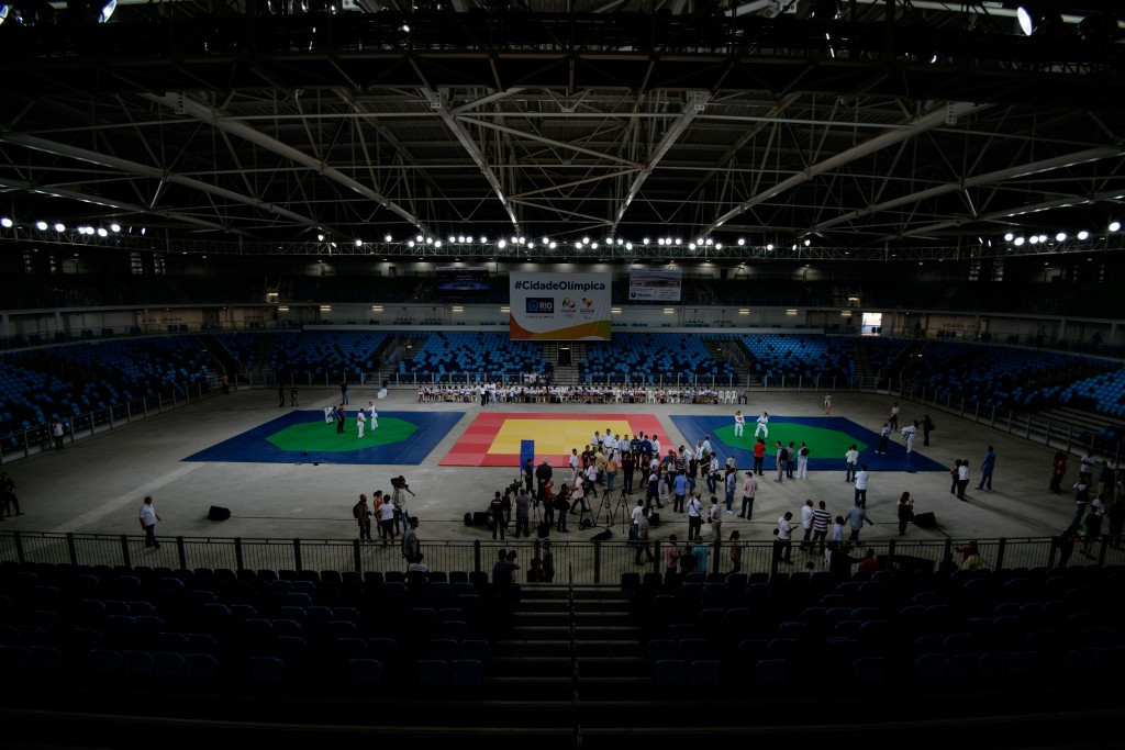 Carioca Arena 3 has reopened since the Games, but doubts over other venue legacies remain ©Getty Images