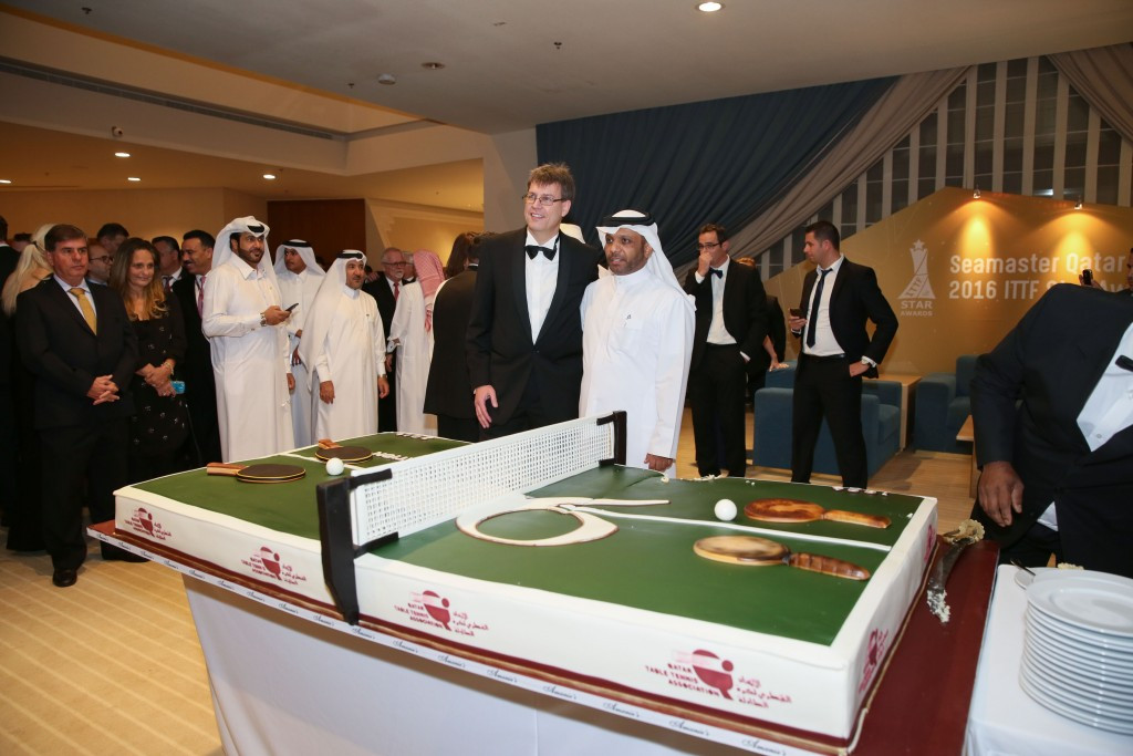 Al-Mohannadi gives backing to Weikert after withdrawal from ITTF Presidential race