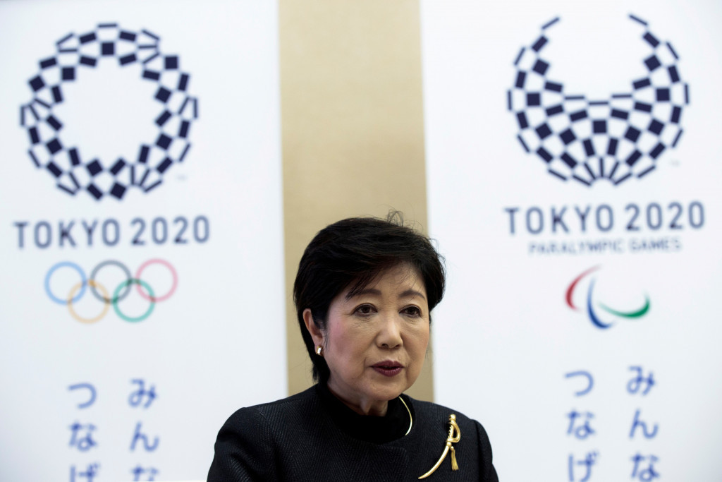 Tokyo Governor Yuriko Koike has reportedly said the Metropolitan Government will likely cover the costs of constructing temporary facilities for Tokyo 2020 ©Getty Images
