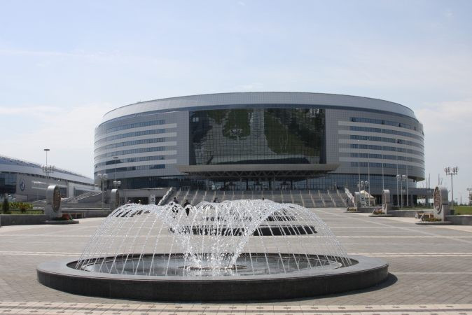 The Minsk Arena is one of the venues that the EOC Coordination Commission is set to visit ©InsideBelarus