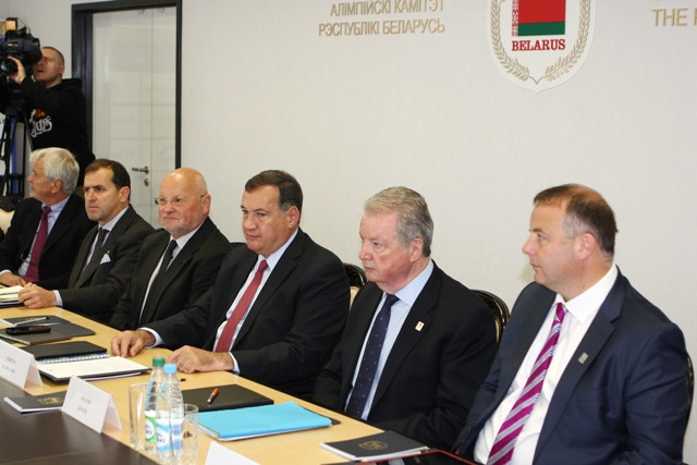 Minsk 2019 sports programme discussed on opening day of EOC Coordination Commission visit