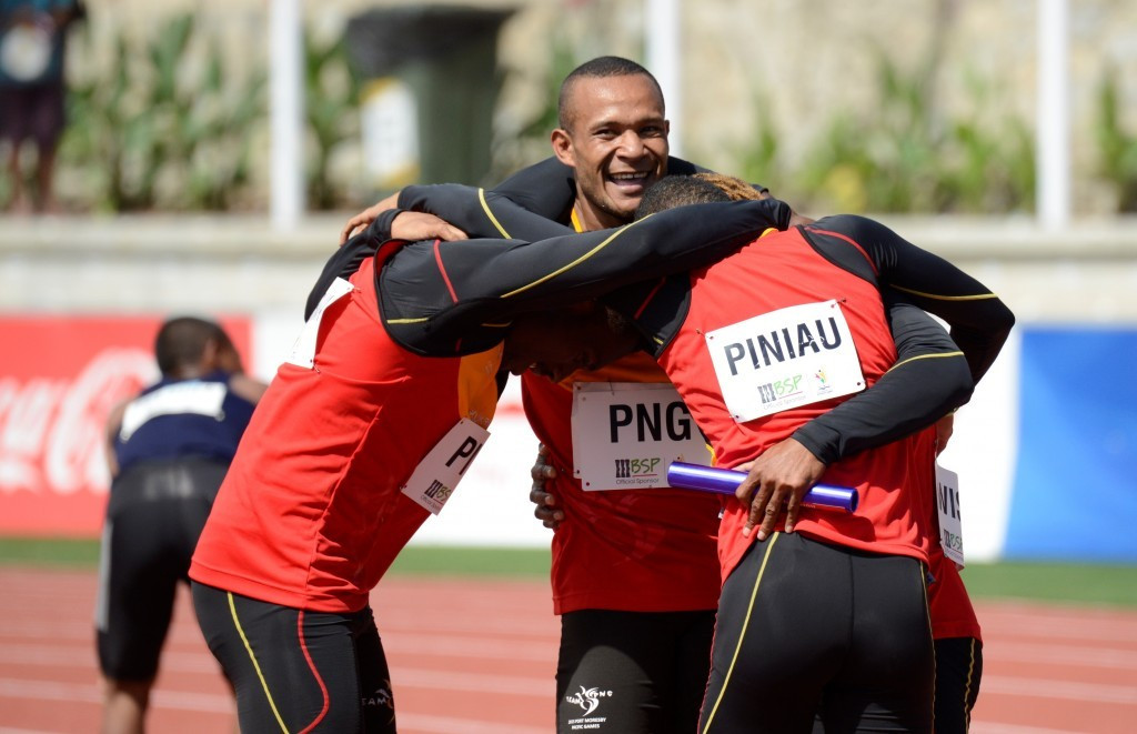 Papua New Guinea add men's 4x100m gold to impressive haul as Pacific Games as athletics draws to close on track