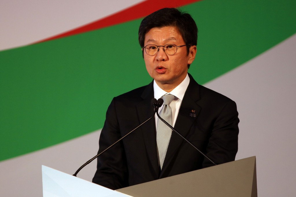 KFA President Chung Mong-gyu has expressed his belief that South Korea could co-host the 2030 FIFA World Cup with China, Japan and neighbours North Korea ©Getty Images