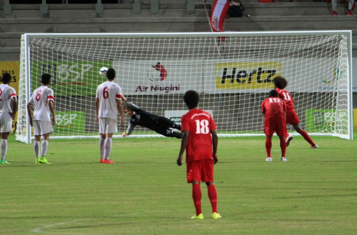 Defending champions New Caledonia win third consecutive Pacific Games football gold medal