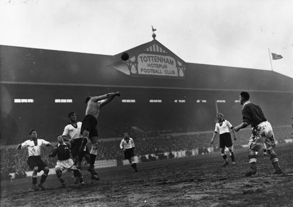 The match at White Hart Lane was extremely controversial ©Getty Images