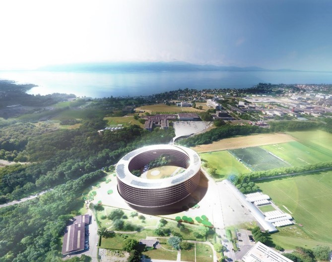 Groundbreaking ceremony held at Lausanne 2020's Youth Olympic Village
