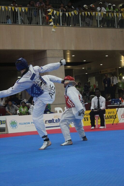Family affair as Australia dominate taekwondo at Port Moresby 2015