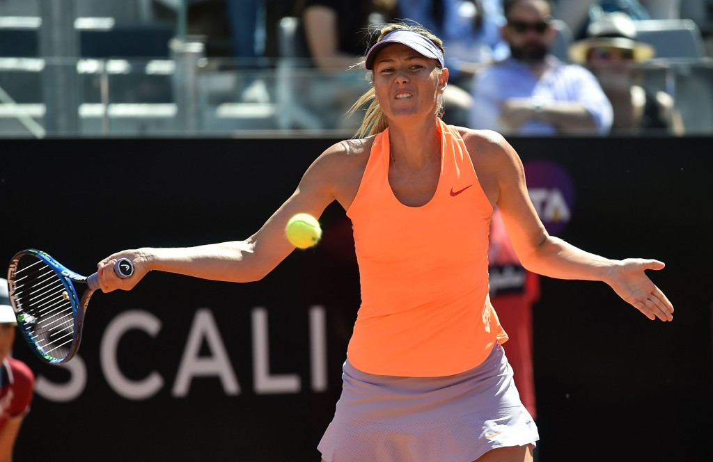 Sharapova denied wilcard entry to French Open