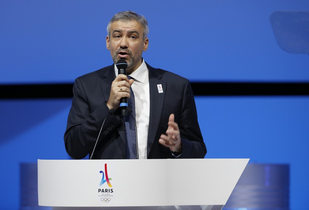 Paris 2024 chief executive Étienne Thobois has defended their budget projections ©Getty Images