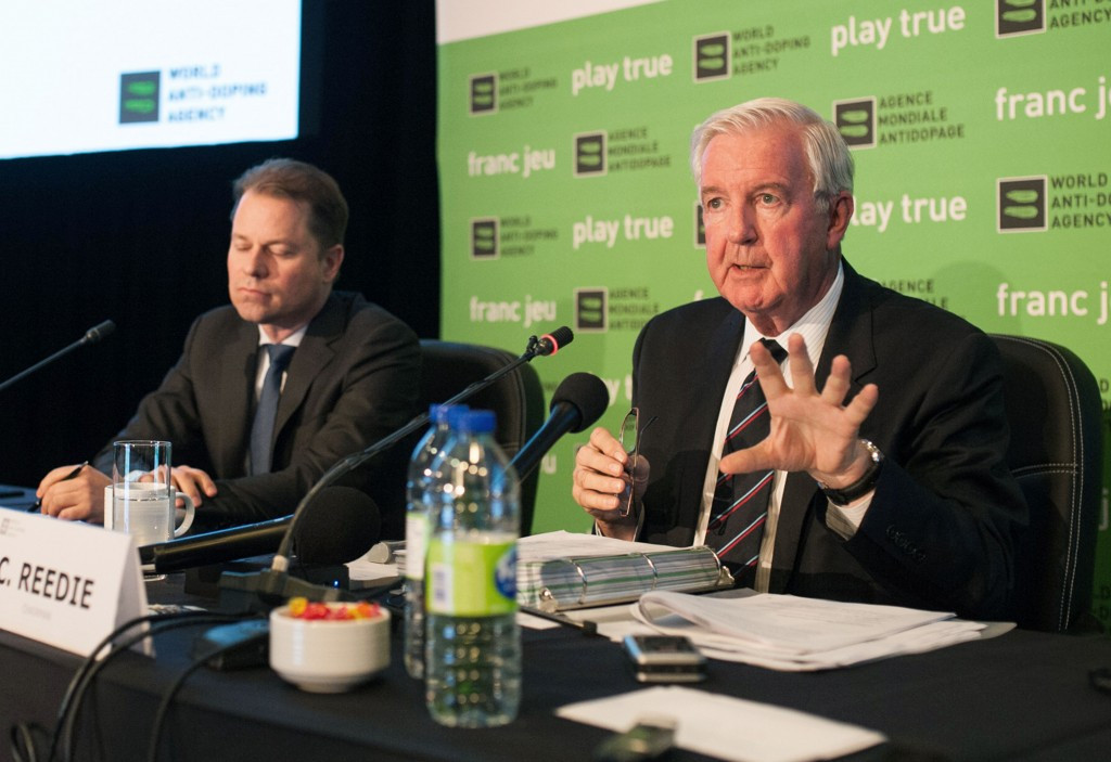 WADA President Sir Craig Reedie has claimed he is confident RUSADA will fulfil the requirements by November ©Getty Images