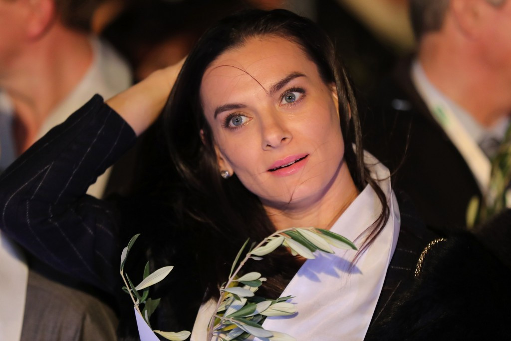 Yelena Isinbayeva will be removed from her role as RUSADA chair on May 31 ©Getty Images