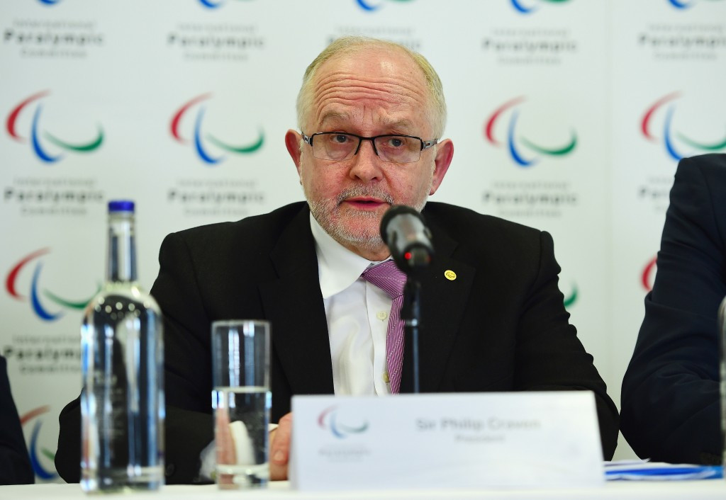 """Sir Philip Craven warned it would be """"very unlikely"""" for Russia to compete at Pyeongchang 2018 should the criteria not be met by September ©Getty Images"""