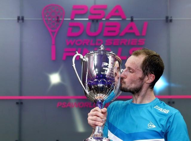 Gregory Gaultier is the defending men's World Series Finals champion ©PSA