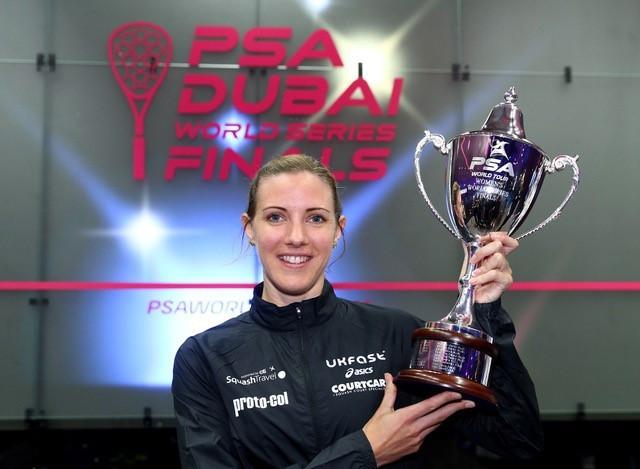 Laura Massaro will defend her crown in Dubai in June ©PSA